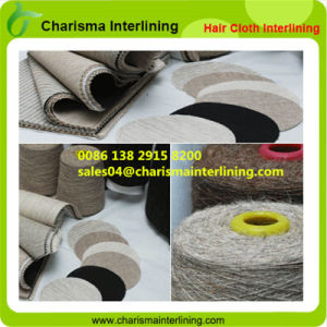 Stiff Horse Hair Cloth Fusible Interlining for Suits/ Tailoring pictures & photos