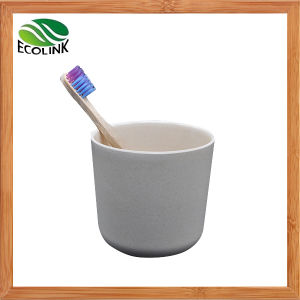 Bamboo Fiber Children Tooth-Brushing Cup pictures & photos