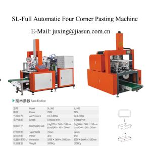 Automatic Gift Box Four Corner Making Machine pictures & photos