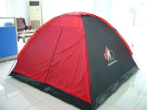 Classical Doubel-Skin Campint Tent for 3-4 Perosn pictures & photos