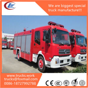 Tianjin Dongfeng 4X2 8000liters Foam Tank Fire Rescue Truck pictures & photos