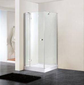 Bathroom 8mm Hinge Door Shower Enclosure with Side Panel (BN-HD8010) pictures & photos