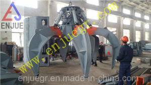 Motor Hydraulic Petel Grab for Discharging Garbge in Power Plant pictures & photos