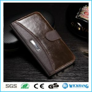 Luxury Leather Wallet Flip Case for Samsung Galaxy Phone pictures & photos