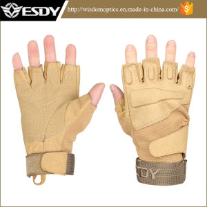 Nylon Half-Finger Tactical Outdoor Protective Cycling Biking Gloves pictures & photos