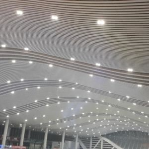 Aluminum U Profile Baffle Suspended Ceiling with Fashioned Design pictures & photos