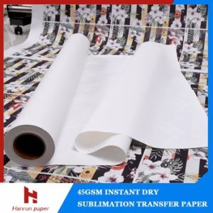 44′′, 64′′ 45GSM Inkjet Sublimation Transfer Paper for Sublimation Textiles pictures & photos