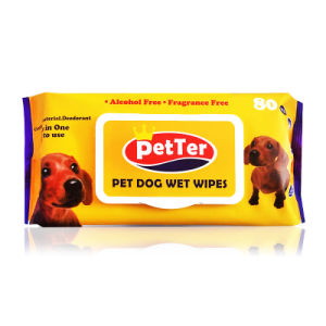 Pet Wipes Paper Special for Dogs/Cats 80 Pumping pictures & photos