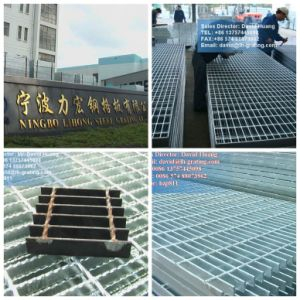 Galvanized Coated Tread by Steel Grating pictures & photos