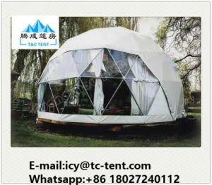 Waterproof Half Sphere Tent with Clear Roof Cover for Exhibition pictures & photos
