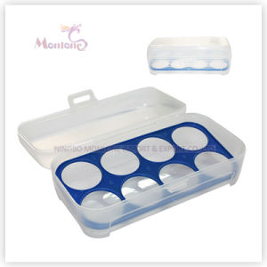 Food Grade Plastic PP Kitchen Storage 8-Compartment Egg Fresh Container pictures & photos