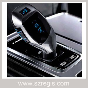 Handsfree Bluetooth Car Kit FM Transmitter with TF Card MP3 Player pictures & photos