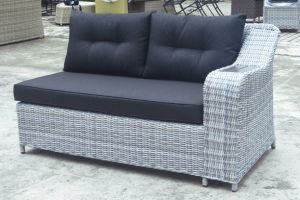 Polywood Lounge Outdoor Patio Wicker Garden Rattan Home Hotel Office Sofa Set (J610-POL) pictures & photos