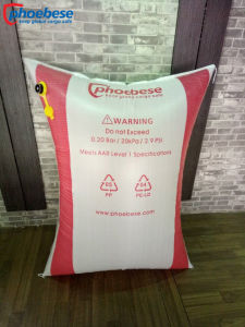 Dunnage Air Bags for Trucks Fille Poly Woven Dunnage Air Bag for Safe Delivery pictures & photos