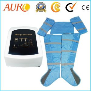 Au-7007 Hot Sale Pressotherapy Air Pressure Body Massage Suit pictures & photos