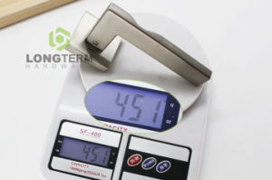 High Quality Satin Brushed Nickel Door Lever Lock Handle pictures & photos