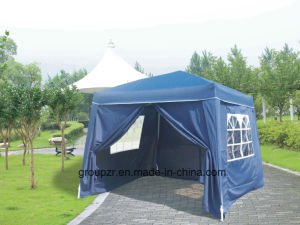 Folding Steel Gazebo with Sidewall pictures & photos
