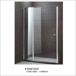 Pivot Silver Frame Shower Screen pictures & photos