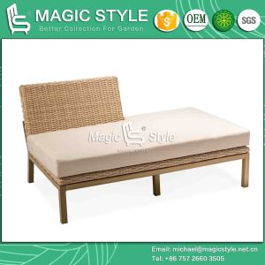 Combination Sofa with Cushion Outdoor Sofa Weaving by Wicker pictures & photos
