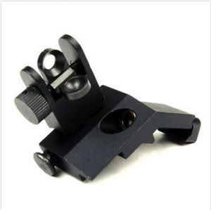Front Rear Sight Rapid Transition 45 Degree off Buis Flip up Back up Iron Sight pictures & photos