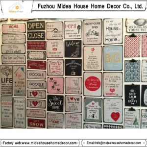 Handmade Home Decor Vintage Wall Tin Signs pictures & photos