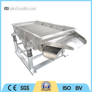 Dry Powder or Grain Linear Vibration Sieve pictures & photos