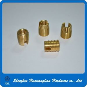 Brass Slot External Thread Screwed Insert Nut pictures & photos