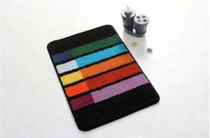 Custom Non-Slip Colorful Designer Home Textile Decoration Carpet Bathroom Rug pictures & photos