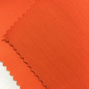 100% Cotton Flame Retardant Lime Safety Fabric for Workwear pictures & photos