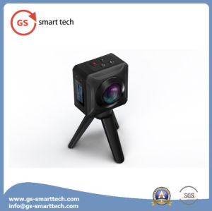 New Double Wide Angle Fisheyelens 360 Degrees Panoramic Action Digital Camera Camcorders WiFi Sport DV pictures & photos