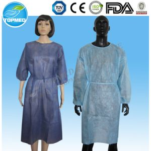 Topmed Disposable Cheap Isolation Gown, Professional Manufacturer pictures & photos