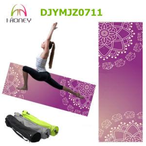 Mandala Print Natural Rubber Yoga Mat Yoga with Yoga Bag pictures & photos