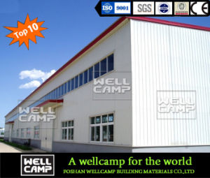 Strong Steel Stru⪞ Ture Warehouse with Bri⪞ K Wall/Steel Frame/Metal Stru⪞ Ture pictures & photos
