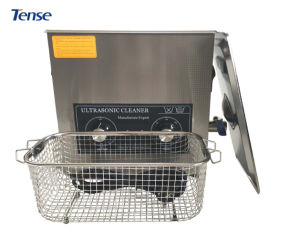 6L Tense Ultrasonic Cleaning Machine with Drain/Heating (TSX-180T) pictures & photos