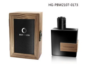 Hot Selling Luxury Arabic and French Perfume Bottle with Leather Cover pictures & photos