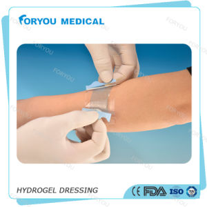 Foryou Medical Sterile Burn Luofucon Medical Hydrogel Dressing Post Operations Medical Disposable Hydrogel Dressing pictures & photos