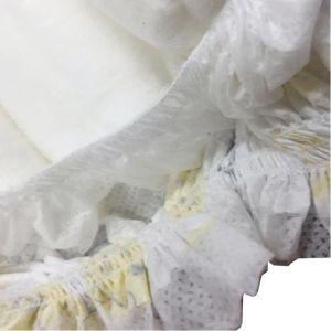 Yellow Color Cartoon Design Clothlike Backsheet Disposable Diaper pictures & photos