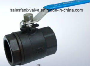 2PC Type Ball Valve with Internal Thread (WCB) pictures & photos