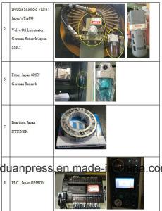 Auto Brake Pads Metal Stamping Semi Closed Power Press Punching Machine pictures & photos