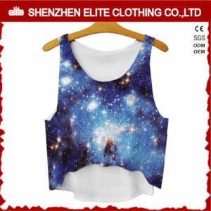 Women Clothing Stylist Sublimation Tank Tops (ELTVI-35) pictures & photos