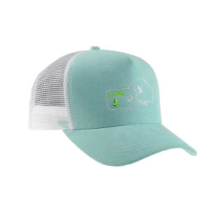 Embroidery Green/White Snapback Custom Sport Trucker Cap pictures & photos