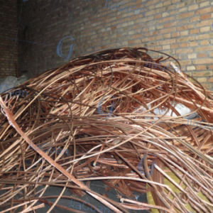 0.6-1.6mm High Purity Copper Wire Scrap 99.99% pictures & photos