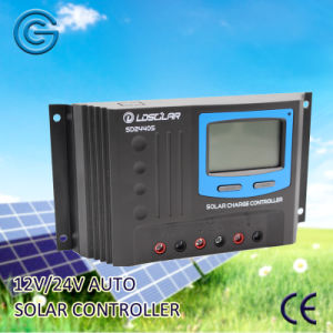 12V 24V 40A Solar Battery Charger Controller with USB pictures & photos