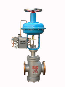 Pneumatic Double Seat Pressure Control Valve (GAZJHN) pictures & photos