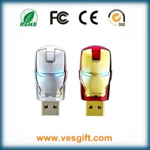 Newest Justice League Heroes Iron Man USB Flash Drive pictures & photos