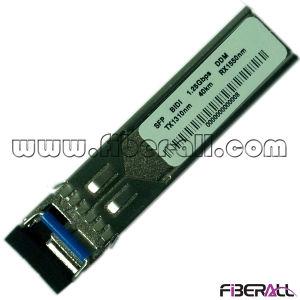 Wdm SFP Fiber Optic Transceiver 1.25g Bidi 40km LC Ddm pictures & photos