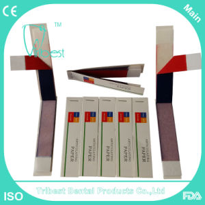 Disposable Dental Occlusion Paper, Articulating Paper pictures & photos