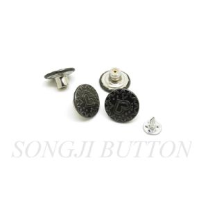 High Quality New Design Garment Accessories Metal Jean Button pictures & photos