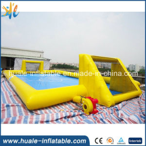 2016 Crazy Interesting Inflatable Soap Soccer Field, New Inflatable Soccer Field for Sale pictures & photos