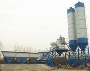 Low Price Useful Concrete Mixing Plant (HZS35) pictures & photos